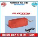 Platoon PL-4340 Müzik Kutusu Bluetoth USB Micro Sd Kart Şarj lı
