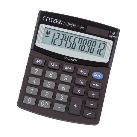 Citizen SDC 812 KalkulatorHesap Makinesi