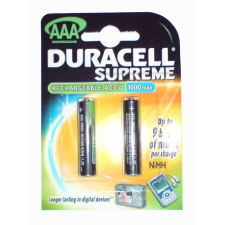 Duracell (AAA) İnce Kalem Pil