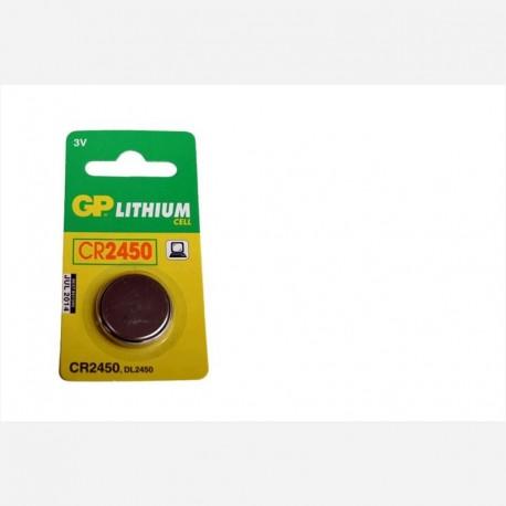 GP CR2450 3 VOLT LİTYUM PİL 5 `Lİ BLİSTER