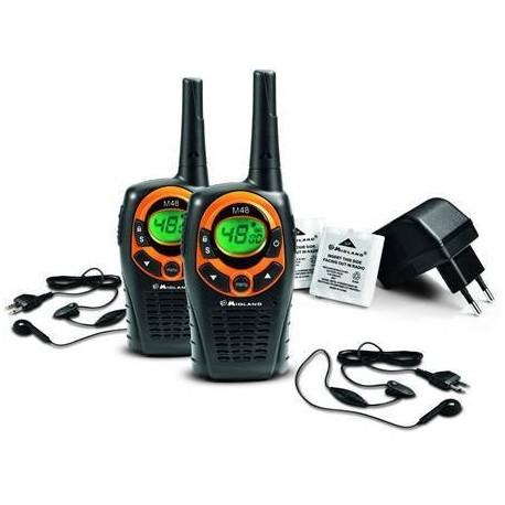 MIDLAND M48 EL TELSİZİ (2 Adet Kulaklık-Mikrofon Hediyeli)
