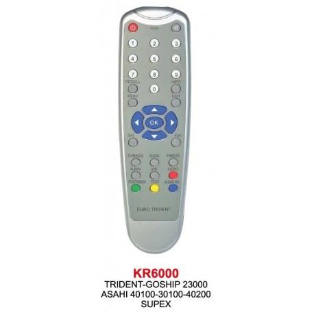 SUPEX TRIDENT-GOSHIP-ASAHI UYDU KUMANDASI KR6000