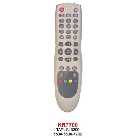 TAPLIN 3200-5500-6600-7700 UYDU KUMANDA KR7700