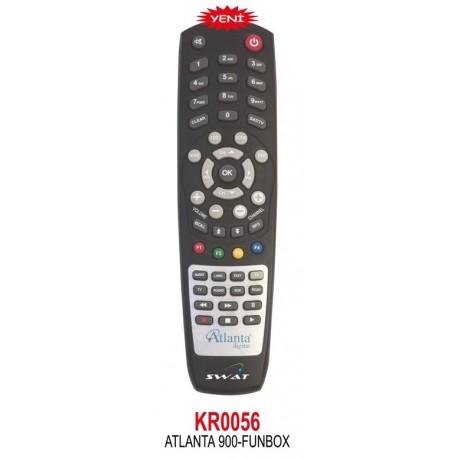 ATLANTA 900 - FUNBOX UYDU KUMANDA KR0056