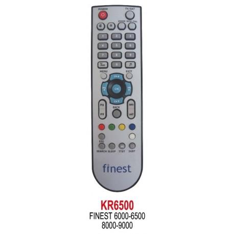 FINEST 6000-6500-8000-9000 UYDU KUMANDA KR6500