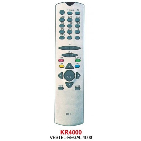 REGAL 4000 (VESTEL) UYDU KUMANDA